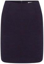 Kith & Kin Little Mini Dark Blue Wool Skirt
