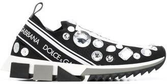 Dolce & Gabbana logo slip on trainers