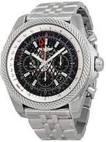 Breitling Men's BTAB043112-BC69SS Bentley B04 GMT Analog Display Swiss Automatic Silver Watch