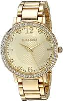 Ellen Tracy Women's Quartz Metal and Alloy Watch, Color:Gold-Toned (Model: ET5217GDBL)