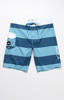 "RVCA Civil Striped Blue 20"" Boardshorts"
