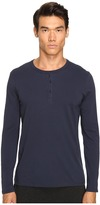 ATM Anthony Thomas Melillo Classic Henley Men's Long Sleeve Pullover