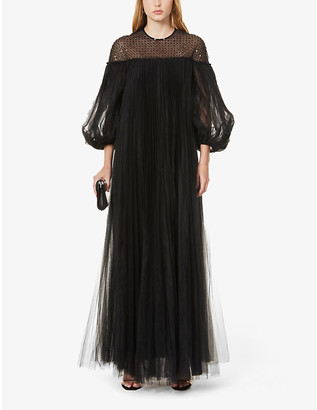 Huishan Zhang Ilaria sequin-embroidered tulle gown