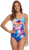 Gottex Hawaii Round Neck One Piece Swimsuit 8159066