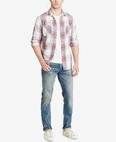 Denim & Supply Ralph Lauren Men's Plaid Cotton Twill Shirt