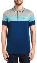 HUGO BOSS BOSS Green Paddy MK Polo Shirt, Light/Pastel Grey