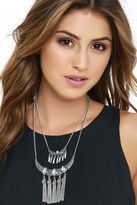 LuLu*s Mystery and Intrigue Gold Layered Necklace