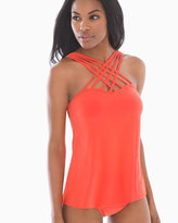 Soma Intimates Magicsuit Morgan Strappy Swim Tankini Top