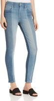 Levi's 721 High Rise Patched Skinny Jeans in Indigo Undone