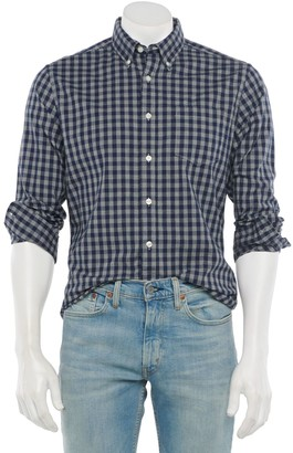 Sonoma Goods For Life Men's Poplin Button-Down Shirt in Regular and Slim Fit