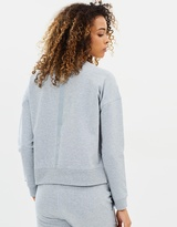 DKNY Reflective Bar Cropped Pullover
