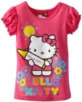 Hello Kitty Girls 2-6x Short Sleeve Puff Tee