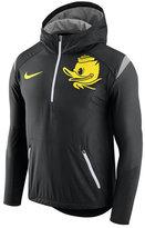 Nike Men's Oregon Ducks Fly-Rush Quarter-Zip Hoodie
