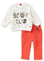 Joules Baby Boys Newborn-24 Months Bear Cub Printed Sweater & Pants Set