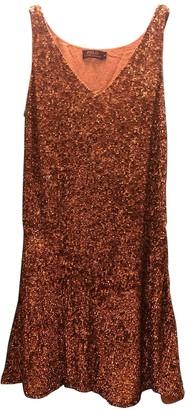 Polo Ralph Lauren Orange Glitter Dress for Women