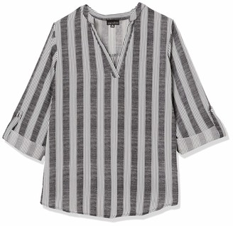 Forever 21 Women's Plus Size Striped Top