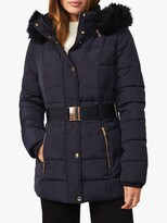 Thumbnail for your product : Phase Eight Vicky Puffer Coat, Navy