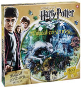 Harry Potter Magical Creatures Round Collector's Puzzle (500 Pieces)