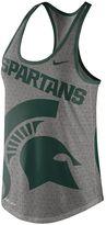 Nike Women's Michigan State Spartans Dri-Blend Tank