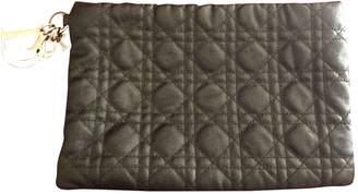 Christian Dior Lady Black Cloth Clutch bags
