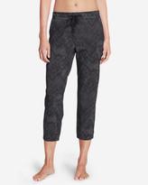 Eddie Bauer Women's Trail Seeker Crop Pants - Print
