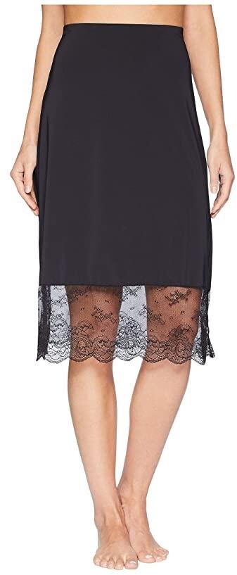 5d0be3f633fca Black Lace Half Slip - ShopStyle