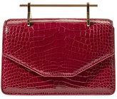 M2Malletier Indre Alligator Satchel Bag