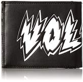Volcom Corps Large Geldbeutel Wallet, Unisex Adults' Schwarz (Black Destructo), 3x10x12 cm (B x H T)