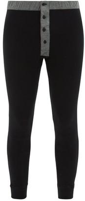 Hemen Biarritz - Organic-cotton Jersey Sweatpants - Mens - Black