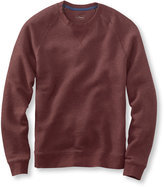 L.L. Bean Men's Textured Cotton/Wool Pullover, Slightly Fitted