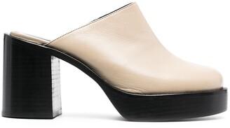 Simon Miller Low Raid high-heel clogs