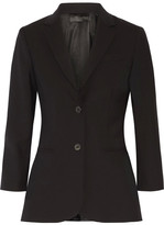 The Row Schoolboy Wool-blend Blazer - Black