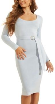 GUESS Kym Belted Sweater Dress