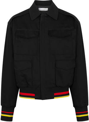 J.W.Anderson Black Cotton Bomber Jacket