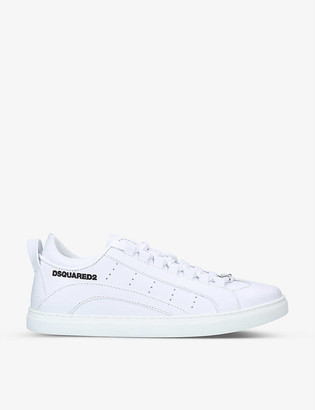 DSQUARED2 Casetta leather low-top trainers