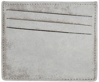 Maison Margiela White 4-Stitches Card Holder