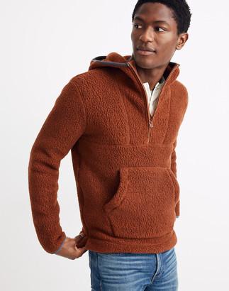Madewell Men's Polartec Fleece Hoodie Jacket