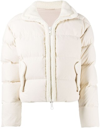Ienki Ienki Faux Shearling-Trimmed Quilted Jacket