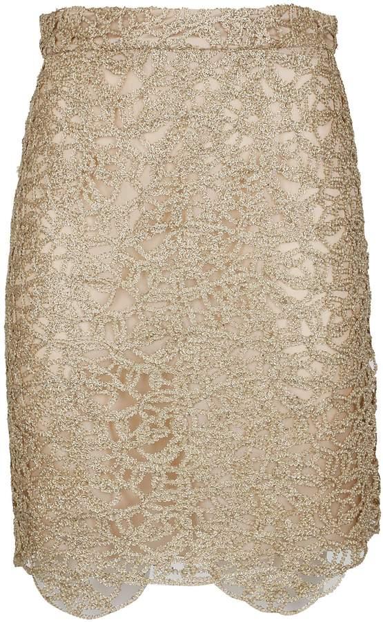 Chain Detail Skirt