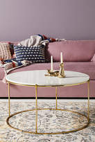 Anthropologie Leavenworth Marble Coffee Table