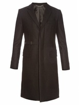 Givenchy Notch-lapel Wool-blend Overcoat