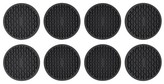 OXO 8PackCoasters Black