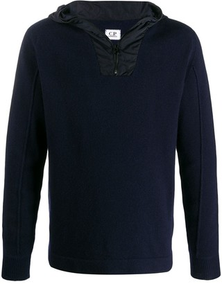 C.P. Company front zipped hoodie