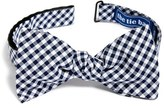 The Tie Bar Men's Gingham Cotton Bow Tie