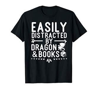Dragon Optical and Books easily distracted T-Shirt