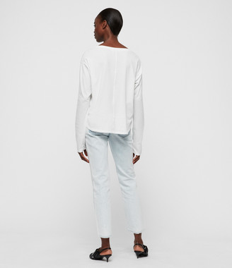 AllSaints Brea Long Sleeve T-Shirt