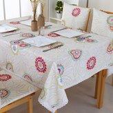 Talecloths European simple cloth garden waterproof tale cloth,rectangular coffee tale-cloth