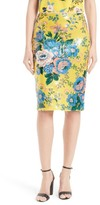 Diane von Furstenberg Women's Floral Pencil Skirt