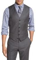 J.Crew Men's Ludlow Trim Fit Solid Wool Vest