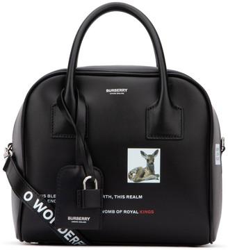 Burberry Small Montage Print Top Handle Bag